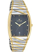 Titan Karishma Analog Watch For Men Gold Silver 9315BM02