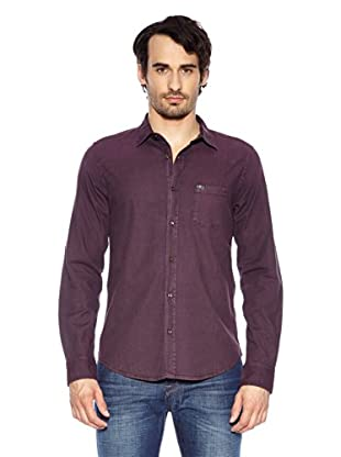 7 For All Mankind Camisa  Bibb (Burdeos)
