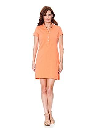 Cortefiel Polokleid (Orange)