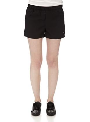 Puma Damen Shorts Ess Woven (Black)