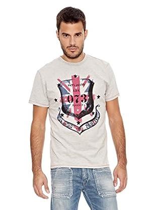 Pepe Jeans London Camiseta New Flag 1 (Gris Claro)