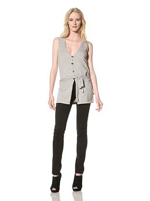 Just Cavalli Women's Knit Vest (Gray)