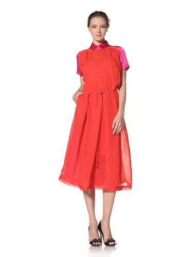 Preen LINE Women's Kelly Dress (Red/Pink/Navy)