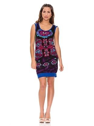 Sidecar Vestido Mónica (Negro / Azul / Rosa)