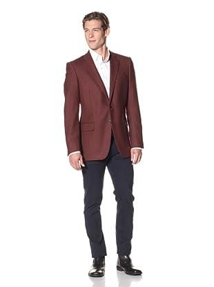 Joseph Abboud Men's Hudson Fit 2-Button Sportcoat (Red)
