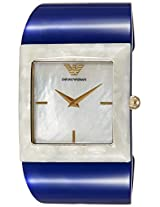 Emporio Armani Analog Mother of Pearl Dial Women's Watch - AR7396