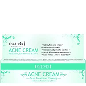 Sattvik Organics Cream, 40 g Acne Treatment Therapy