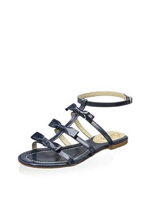 Butter Women's Amaze Gladiator Flat Sandal (Navy)