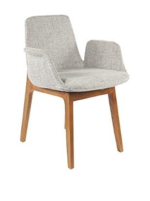 Control Brand Agder Arm Chair, Grey