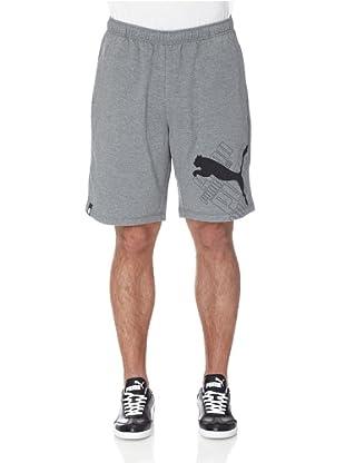 Puma Hose Sweat Logo (medium gray heather)