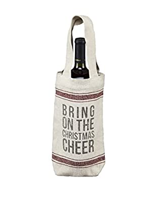 Christmas Cheer Wine Bag