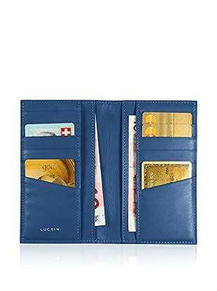 Lucrin Brieftasche PM1343_VCLS_BLR royalblau