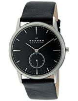 Skagen Analog Black Dial Men's Watch - 958XLSLB