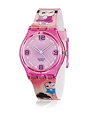 Swatch Quarzuhr Unisex Zen Wink GP127 34 mm