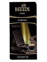 Heidi Espresso Dark Chocolate with Coffee - 80g