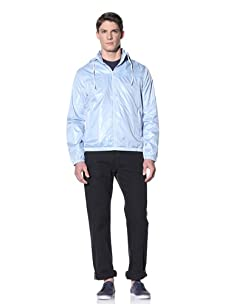 Perry Ellis Men's Solid Windbreaker (Powder Blue)