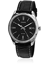 Enticer Mtp-1302L-1Avdf-A489 Black Analog Watch Casio