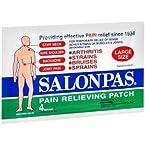 SALONPAS LARGE PATCH 25/PK 4 EACH [Personal Care]
