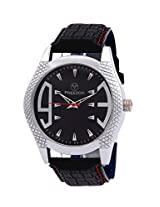 PREEZON Black Dial Analogue Watch for Men (PI-RESONANCE-001)
