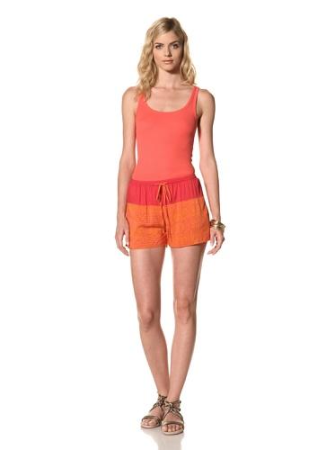 Thakoon Addition Women's Drawstring Board Short (Orange)