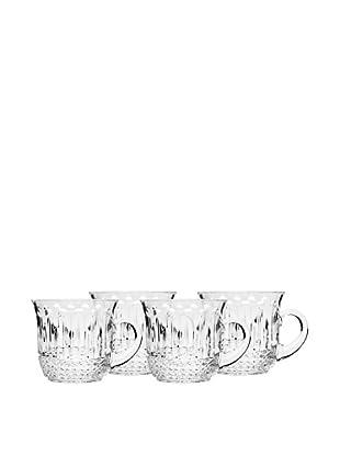 Godinger Set of 4 King Louis Punch Cups