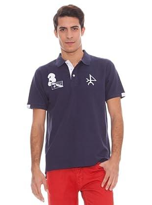 Valecuatro Polo Logo (azul marino)