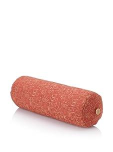 "Corona Decor Co. Deep Weave 17"" Down Pillow Roll, Rust"