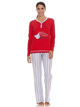 Bkb Pijama Señora (Rojo)