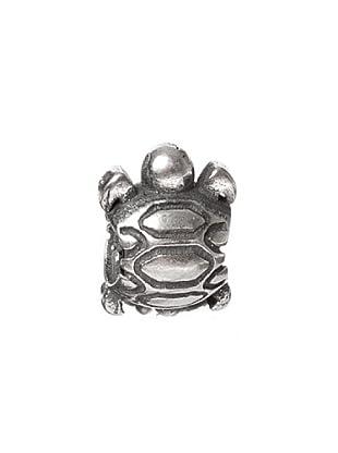 Bacio Abalorio de Plata de Ley 925  Tortuga Rosca