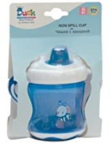 Duck Non Spill Cup without Straw (Blue)