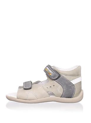 Pablosky Kid's Leather Sandal (Beige)