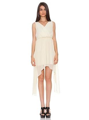 Rare Vestido Asimétrico (Crudo)