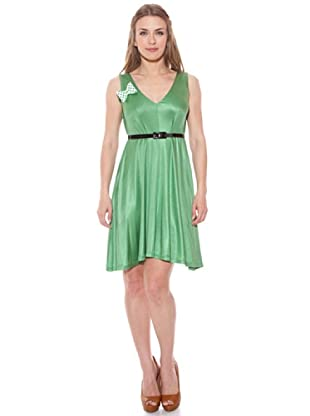Divina Providencia Vestido Brillo (Verde)