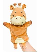 Plush Animal Hand Puppets Funny Toys For Kids, Giraffe B