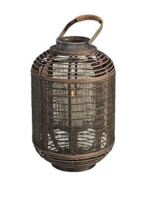 Tall Jute Lantern, Brown