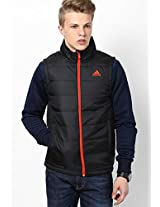 Black Training Quilted Jacket