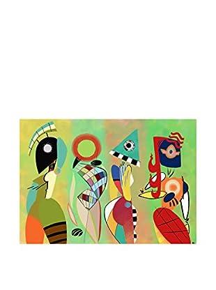 Legendarte Leinwandbild Las Musas De Kandinsky