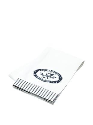 Lexington Company Mantel Guaranteed Quality (Blanco / Azul)