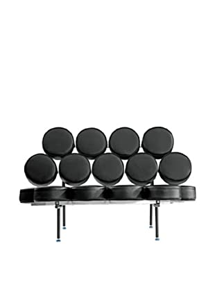 Manhattan Living Circle Sofa, Black