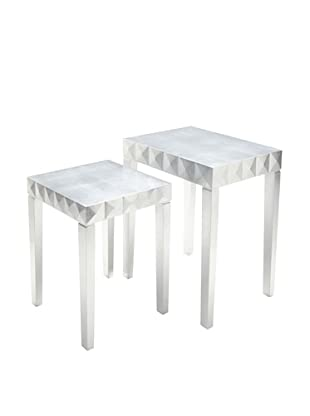 Nest Table (Silver Leaf)