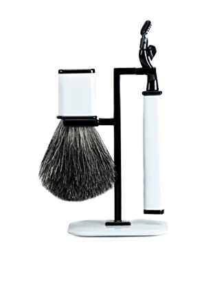 Wilouby Axwell USA RBS Series Shaving Set (White)