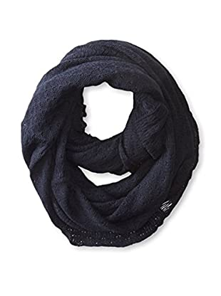 Michael Stars Women's Open Knit Eternity Scarf, Navy