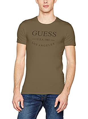 Guess T-Shirt Ss Round Neck