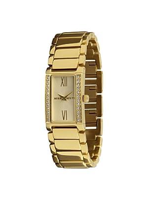 Miss Sixty Just time SZ4003 - Reloj de mujer de cuarzo, correa de acero inoxidable color oro
