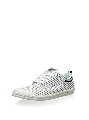 Volley Men's Volley International Sneaker (White Stripe)