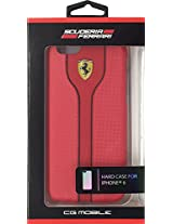 Ferrari Scuderia Hard Case For iPhone 6 Red