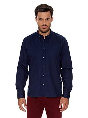 Pepe Jeans London Camisa Hombre Wimbledon (Azul Oscuro)