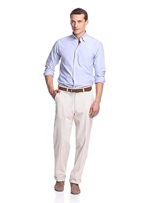 Hiltl Men's Casual Pant (Tan Stripe)