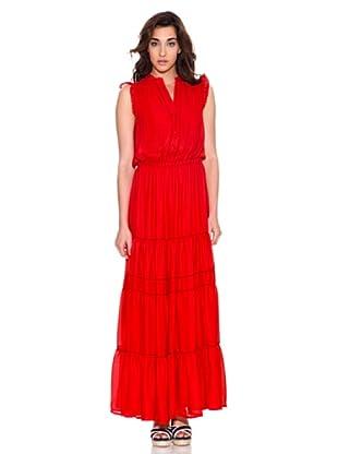 Pedro del Hierro Vestido Largo (Rojo)