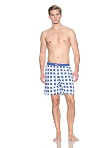 Ted Baker Men's Cheksta Swim Trunks (Bright Blue)